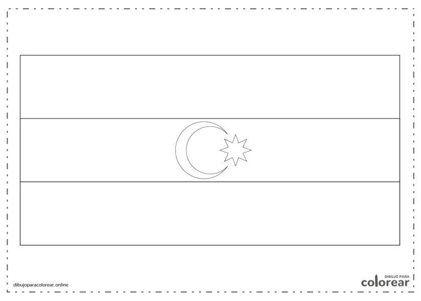 Bandera de Azerbaiján