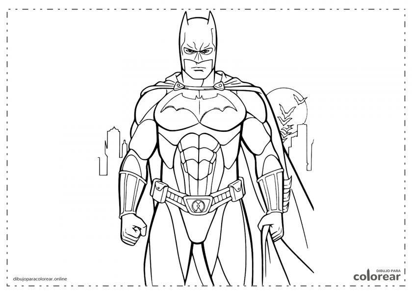 Batman preparado para combatir el mal