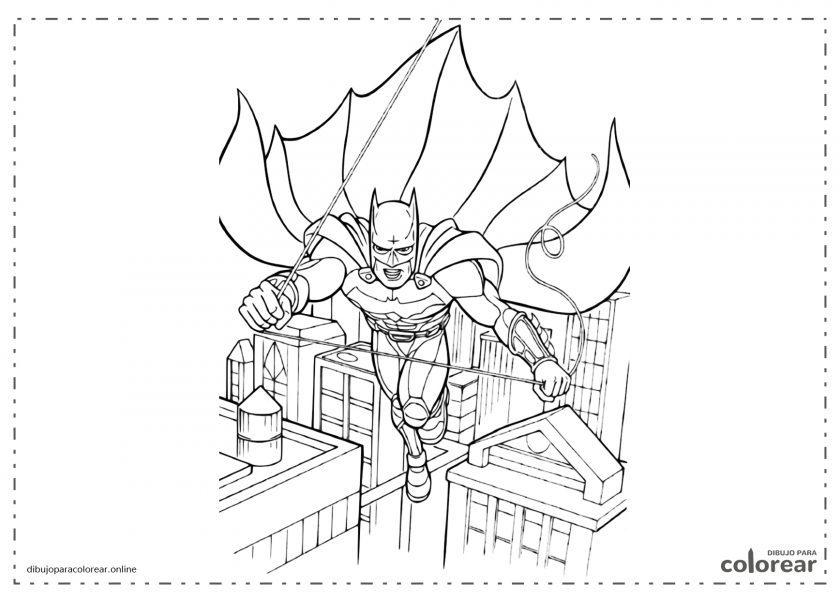 Batman volando