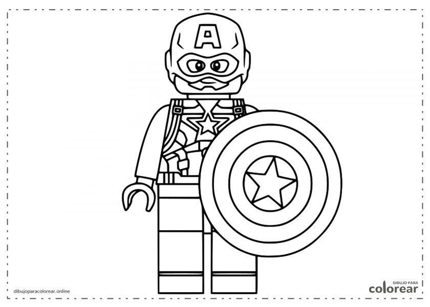 Lego del Capitán América