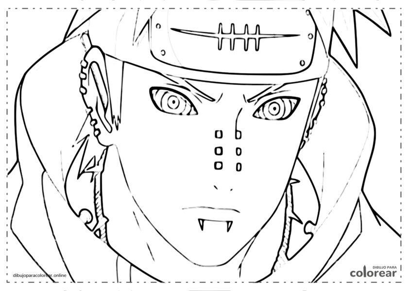 Cara de Naruto