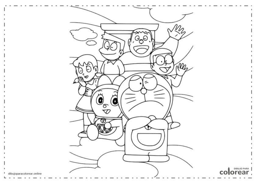 Doraemon, Nobita, Shizuka y todos sus amigos