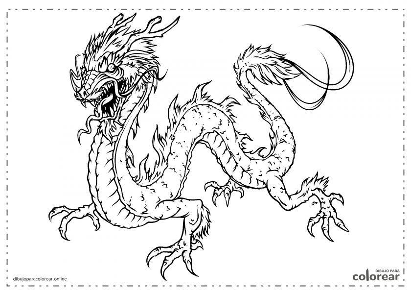 Dragón tradicional chino
