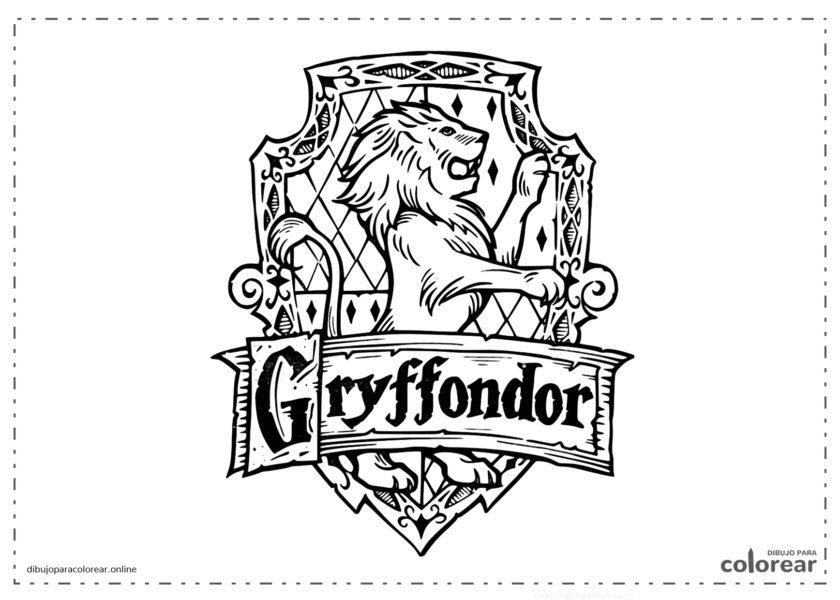 Escudo de Gryffondor (león)