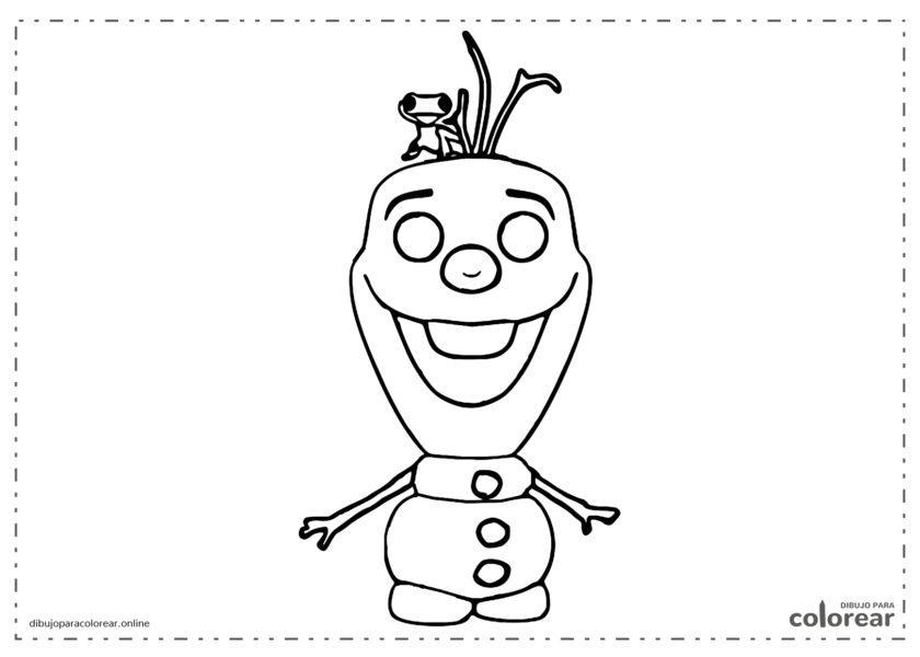 Funko Pop de Olaf de Frozen