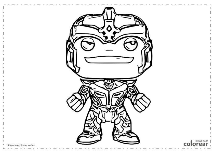 Funko Pop de Thanos de Los Vengadores