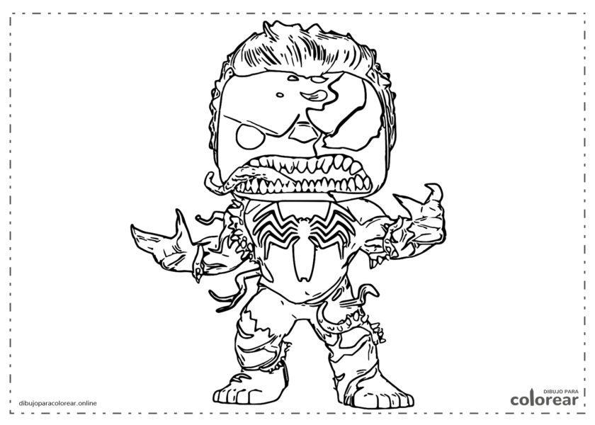 Funko Pop de Venom Hulk