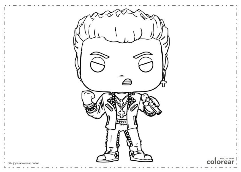 Funko Pop de Billy Idol