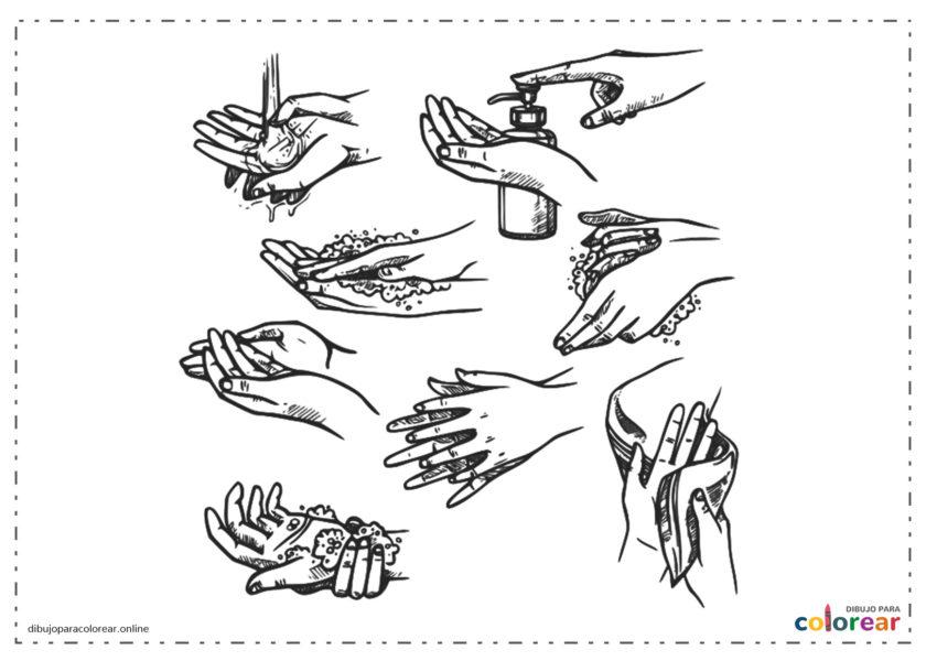 Lavarse las manos para prevenir Coronavirus