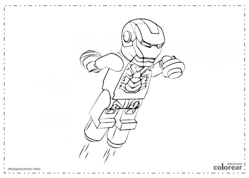 Lego de Iron Man