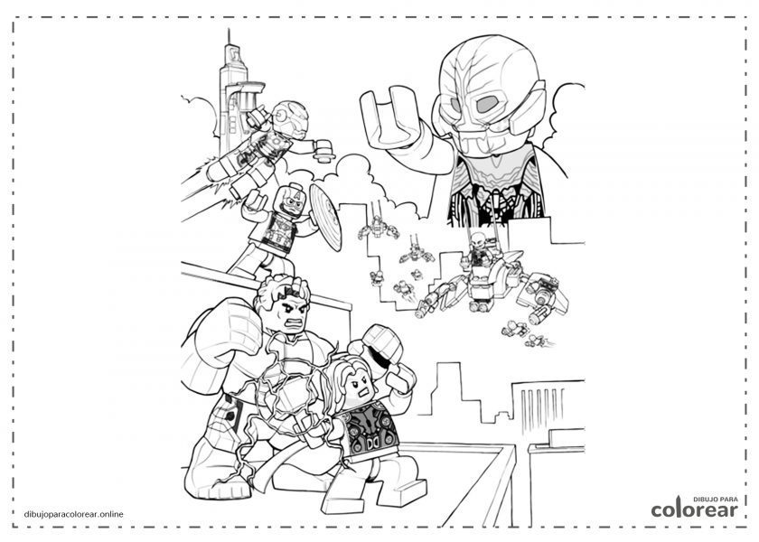 Figuras de Lego de Los Vengadores