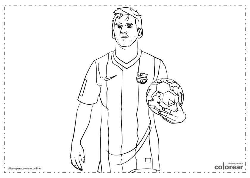 Leo Messi con la camiseta del F.C. Barcelona