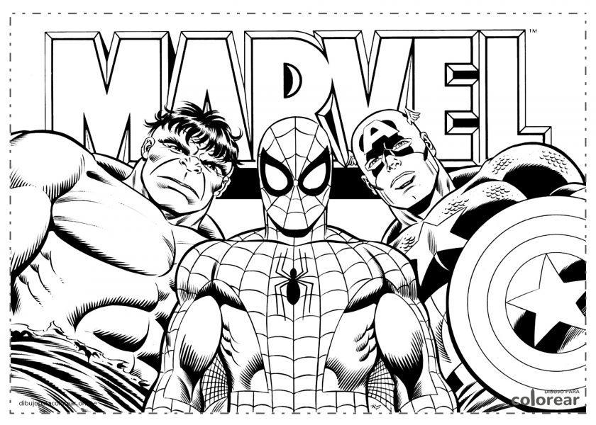 Los superhéroes de Marvel