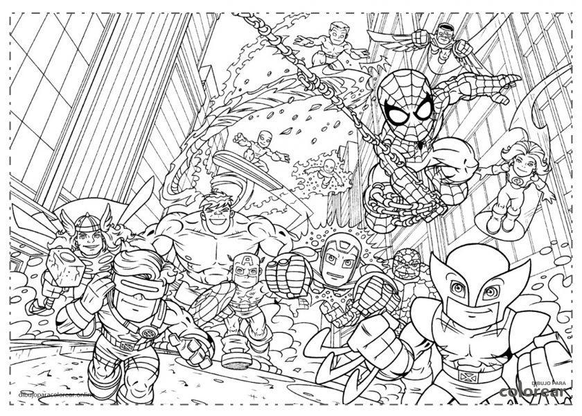 Los superhéroes de Marvel en versión Kawaii