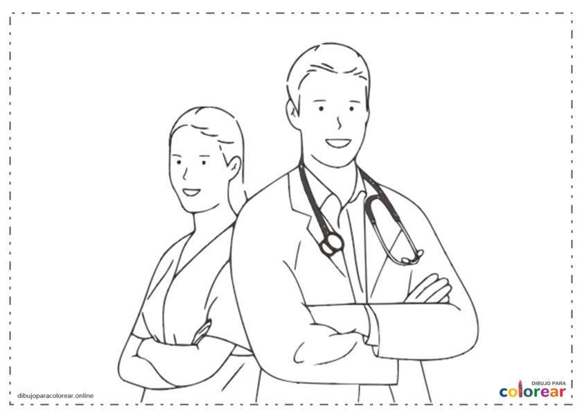 Médicos y enfermeros contra Covid19