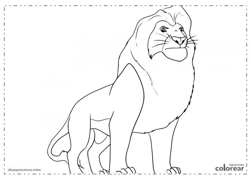 Mufasa, el padre de Simba, El Rey León