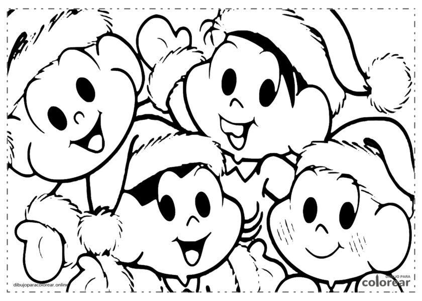 Mónica y sus amigos en Navidad