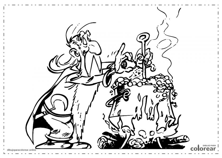 Panoramix, druida de Astérix y Obélix