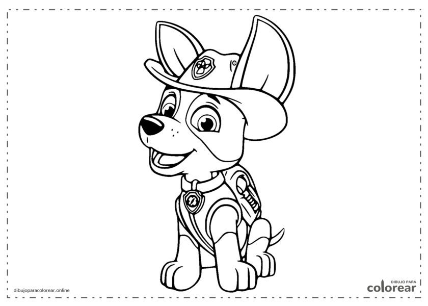 Trucker de La Patrulla Canina