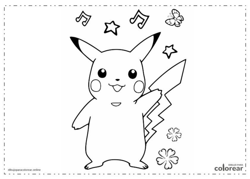 Pikachu cantando