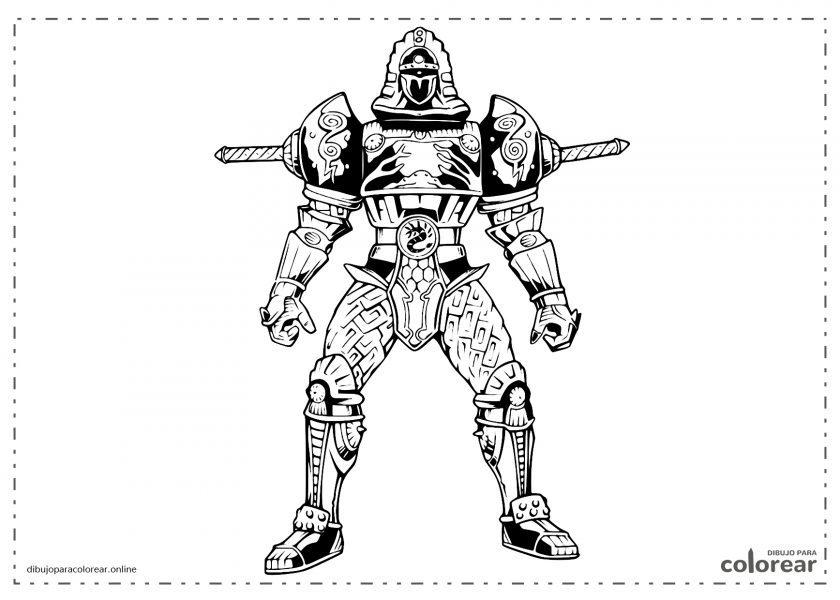 Transformer Ninja de los Power Rangers
