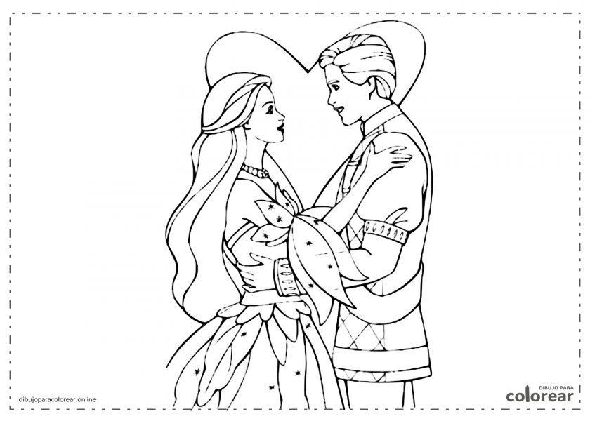 Princesa enamorada del príncipe