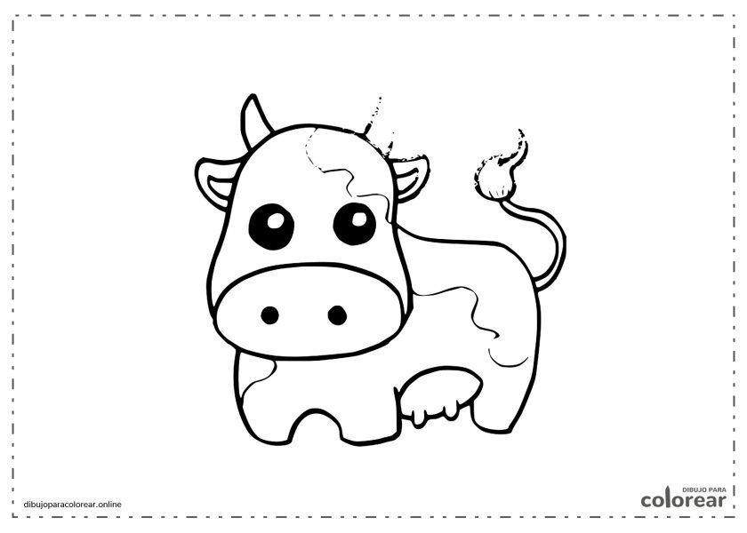 Vaca regordita kawaii