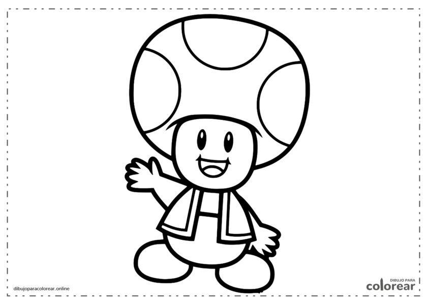 Toad, la seta amiga de Mario