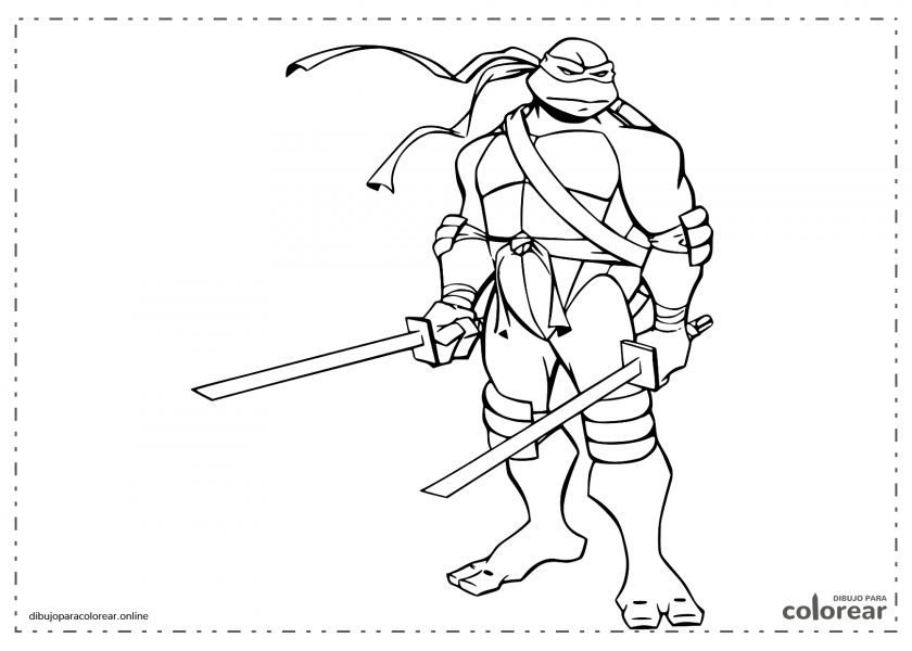 Leonardo, una de las Tortugas Ninja